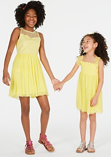Epic Threads Big Girls Floral Embroidered Dress & Little Girls Smocked Embroidered Dress, Created for Macy's