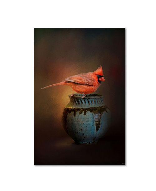 """Trademark Global Jai Johnson 'Little Red Guardian' Canvas Art - 47"""" x 30"""" x 2"""""""
