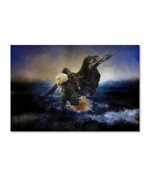 "Trademark Global Jai Johnson 'Deep Sea Fishing' Canvas Art - 32"" x 22"" x 2"""
