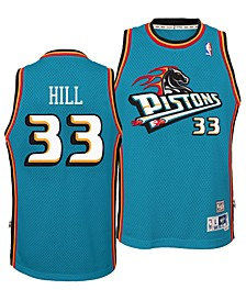 Big Boys Grant Hill Detroit Pistons Retired Player Swingman Jersey
