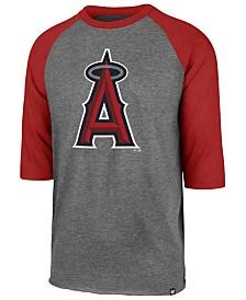 '47 Brand Men's Los Angeles Angels Throwback Club Raglan T-Shirt