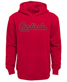Little Boys St. Louis Cardinals Wordmark Pullover Fleece Hoodie