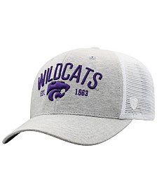 Top of the World Kansas State Wildcats Notch Heather Trucker Cap