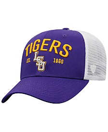 Top of the World LSU Tigers Notch Heather Trucker Cap