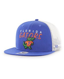 '47 Brand Big Boys Florida Gators Wordmark Captain Snapback Cap