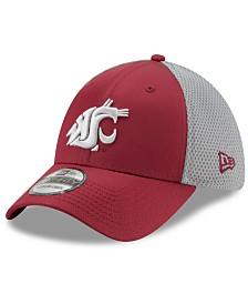 New Era Washington State Cougars TC Gray Neo 39THIRTY Cap