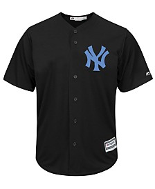Majestic Men's New York Yankees Black Tux Replica Cool Base Jersey