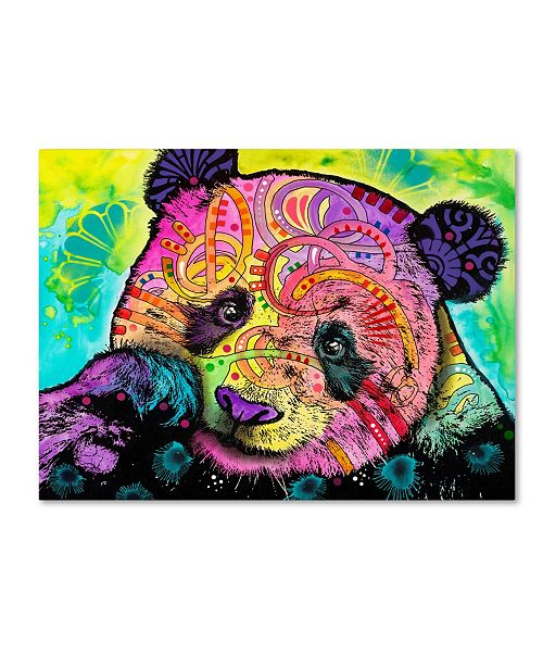 "Trademark Global Dean Russo 'Psychedelic Panda' Canvas Art - 19"" x 14"" x 2"""