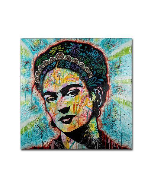 "Trademark Global Dean Russo 'Frida' Canvas Art - 35"" x 35"" x 2"""