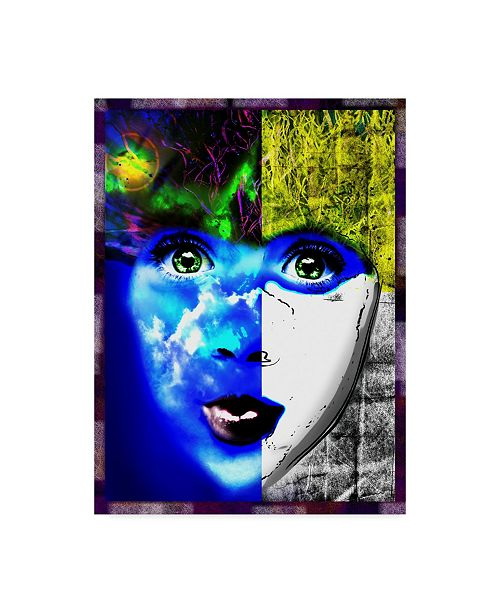 "Trademark Global Dana Brett Munach 'Cloud Child' Canvas Art - 47"" x 35"" x 2"""