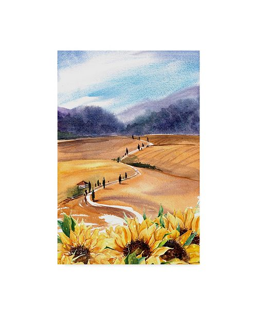 "Trademark Global Irina Trzaskos Studio 'Sunflowers in Tuscany' Canvas Art - 24"" x 16"" x 2"""