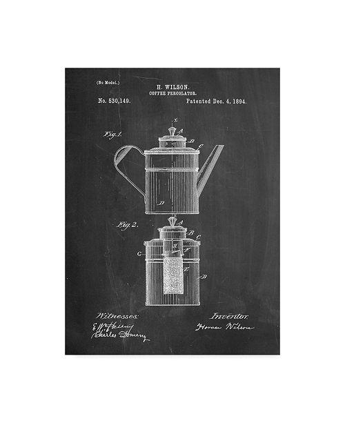 "Trademark Global Cole Borders 'Tea Pot 1' Canvas Art - 24"" x 18"" x 2"""