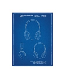 "Cole Borders 'Headphones 1' Canvas Art - 19"" x 14"" x 2"""