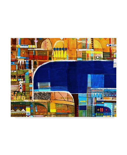 """Trademark Global David Spencer 'Sparling Clear Blue' Canvas Art - 24"""" x 18"""" x 2"""""""