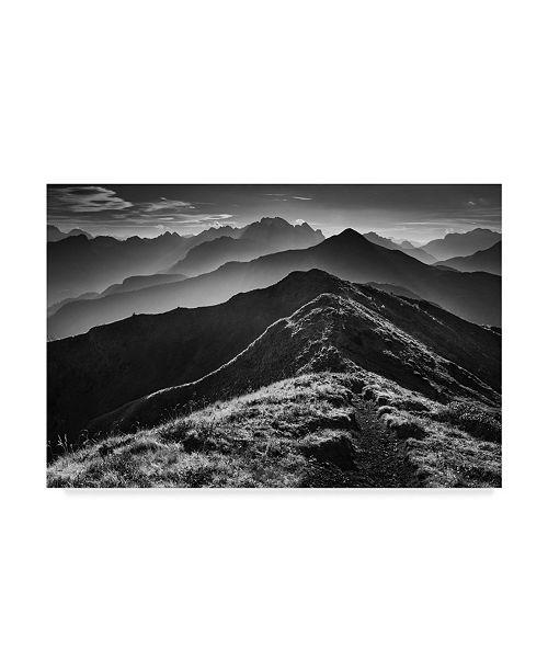"Trademark Global Daniel Rericha 'Alpine Horizons' Canvas Art - 19"" x 2"" x 12"""