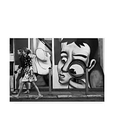"Go Muroiwa 'I Am Watching You' Canvas Art - 32"" x 2"" x 22"""
