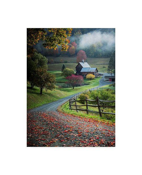 "Trademark Global David H Yang 'Farm Landscape' Canvas Art - 35"" x 2"" x 47"""