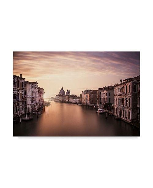"Trademark Global Dan Muntean 'Venice River' Canvas Art - 24"" x 2"" x 16"""