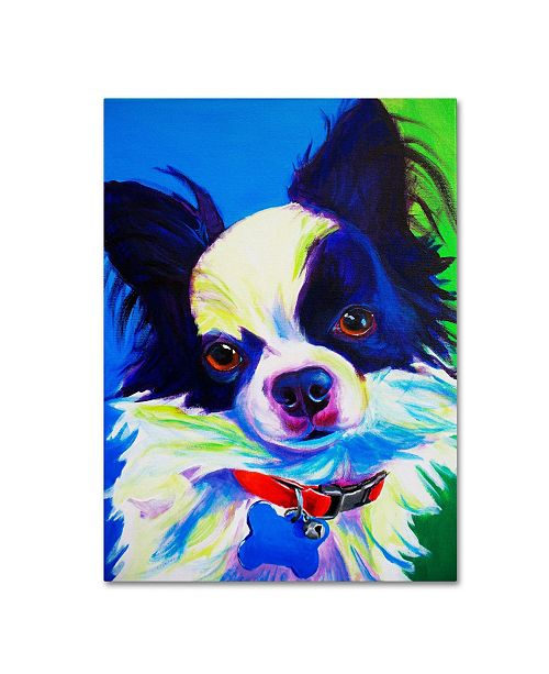 "Trademark Global DawgArt 'Esso Gomez' Canvas Art - 24"" x 32"" x 2"""
