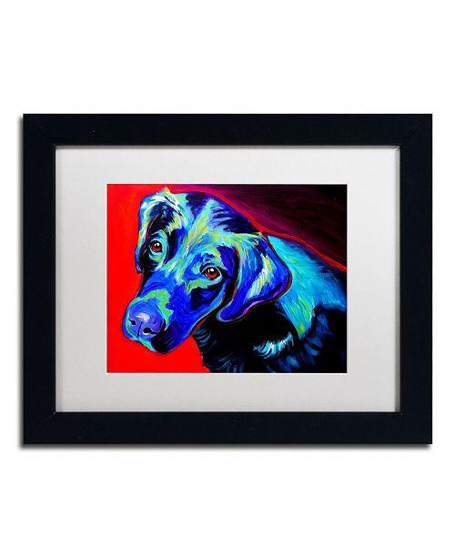 """Trademark Global DawgArt 'Canyon' Matted Framed Art - 14"""" x 11"""" x 0.5"""""""