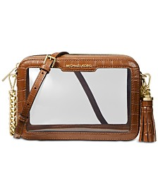 MICHAEL Michael Kors Clear Camera Medium Bag