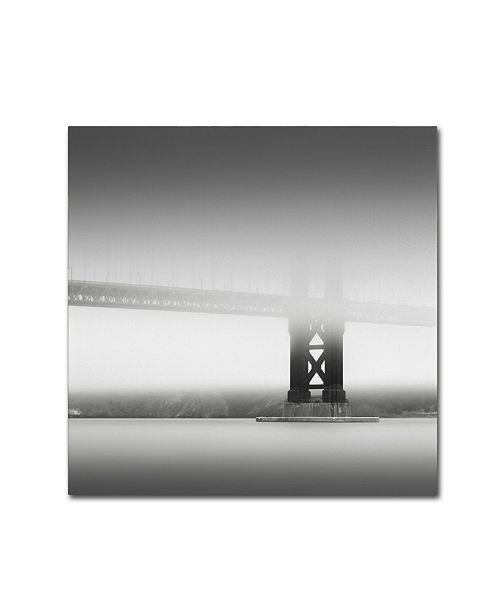 "Trademark Global Dave MacVicar 'Golden Gate' Canvas Art - 14"" x 14"" x 2"""