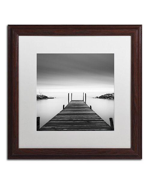"""Trademark Global Dave MacVicar 'Leuty' Matted Framed Art - 16"""" x 16"""" x 0.5"""""""