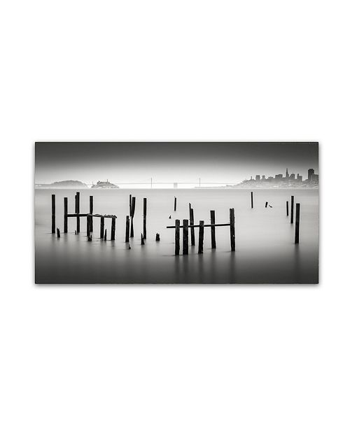 "Trademark Global Dave MacVicar 'Sausalito' Canvas Art - 47"" x 24"" x 2"""