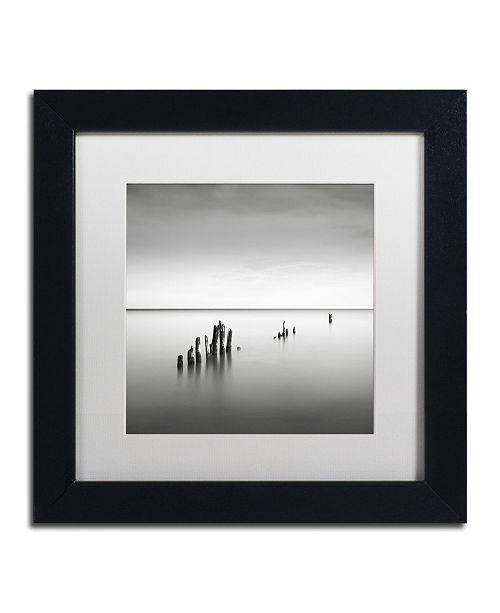 "Trademark Global Dave MacVicar 'Slow Fade' Matted Framed Art - 11"" x 11"" x 0.5"""