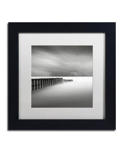 "Trademark Global Dave MacVicar 'Stormy' Matted Framed Art - 11"" x 11"" x 0.5"""
