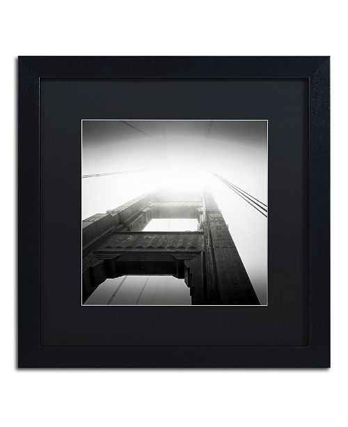 """Trademark Global Dave MacVicar 'The Crossing' Matted Framed Art - 16"""" x 16"""" x 0.5"""""""