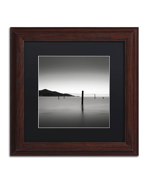 """Trademark Global Dave MacVicar 'The Pacific' Matted Framed Art - 11"""" x 11"""" x 0.5"""""""