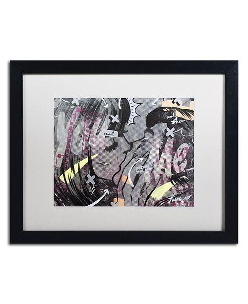 "Trademark Global Dan Monteavaro 'And Only' Matted Framed Art - 16"" x 20"" x 0.5"""