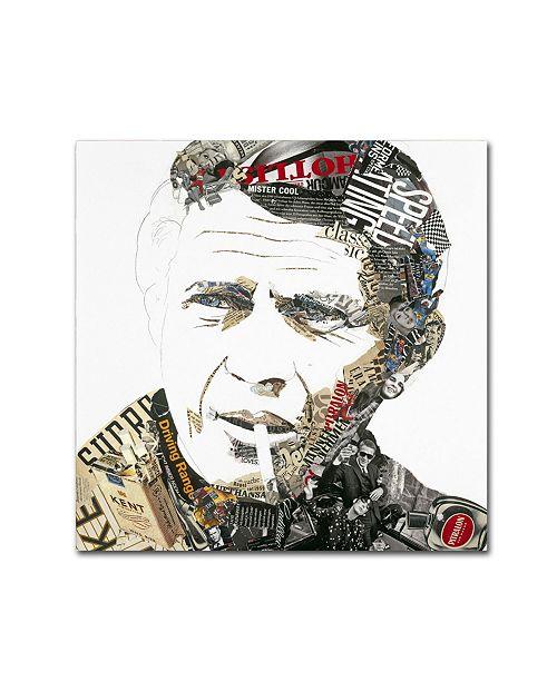 "Trademark Global Ines Kouidis 'Steve' Canvas Art - 24"" x 24"" x 2"""
