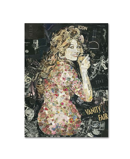 "Trademark Global Ines Kouidis 'Everybody Loves my Baby' Canvas Art - 19"" x 14"" x 2"""