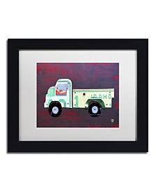 """Design Turnpike 'Pickup Truck' Matted Framed Art - 11"""" x 14"""" x 0.5"""""""