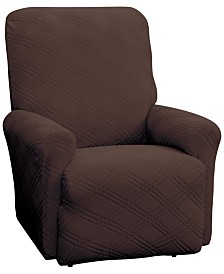 P/Kaufmann Home Double Diamond Recliner Stretch Slipcover