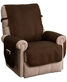 P/Kaufmann Home Faux Leather Recliner