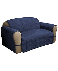 Faux Suede Ultimate Sofa Protector