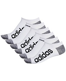 adidas Men's 6-Pk. Superlite No-Show Socks