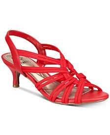 Impo Eileen Stretch Kitten-Heel Dress Sandals