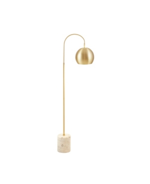 Add a touch of glam to your home decor with Madison Park Signature\\\'s Halsey Floor Lamp. Simple and elegant, this traditional table lamp offers a luxurious update to your living room or bedroom.