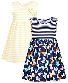 Baby Girls 2-Pack Printed Dresses