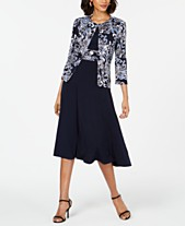 c54f1811f4df Jessica Howard Petite Printed Jacket   Dress