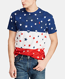Polo Ralph Lauren Men's Big & Tall Classic-Fit Americana Graphic T-Shirt