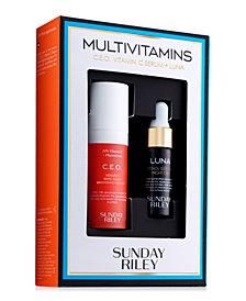 Sunday Riley 2-Pc. Multivitamins Set