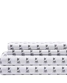 Microfiber Whimsical Twin XL Sheet Set