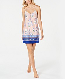 Lulita Printed Chemise Nightgown