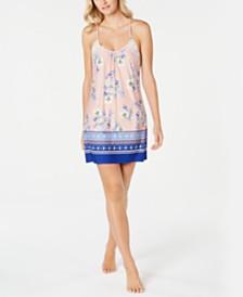 Linea Donatella Lulita Printed Chemise Nightgown