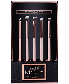 LUXIE 5-Pc. Mini Detail Eye Brush Set